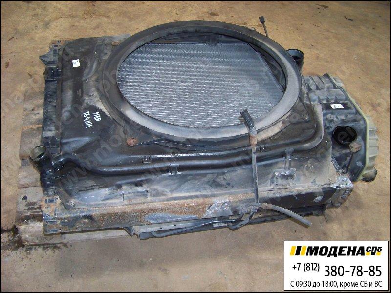 запчасти man Радиатор двигателя с интеркулером в сборе  81.06100-6417