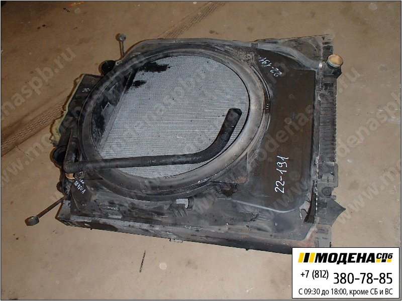 запчасти man Радиатор двигателя с интеркулером в сборе  81.06101-6473