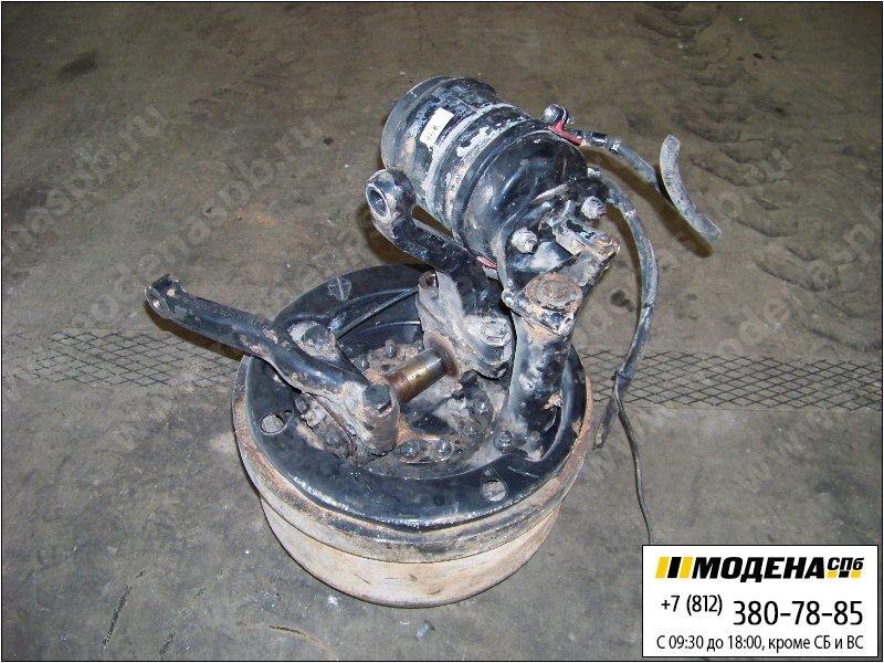запчасти man Ступица передняя левая с тормозным барабаном и кулачковым тормозом (энергоаккумулятором)