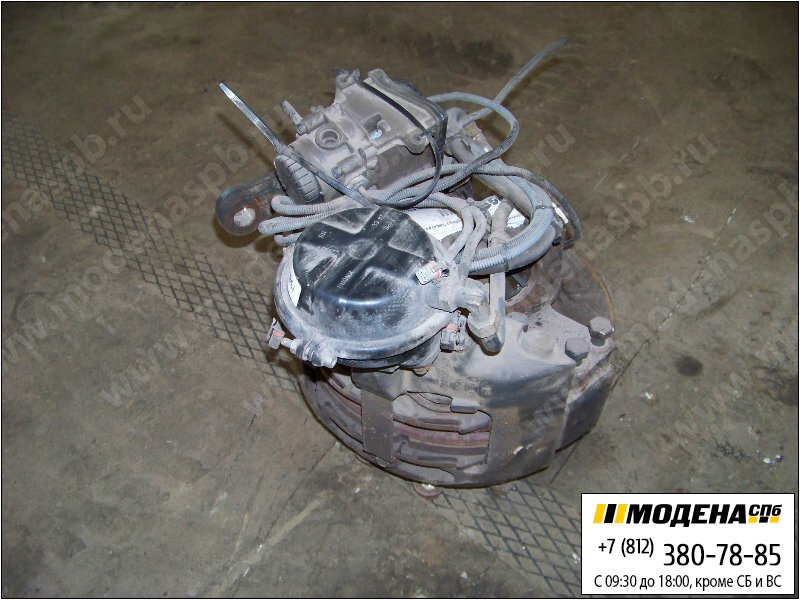 запчасти man Ступица передняя правая с тормозным диском, тормозной камерой и краном  81.44201-6268