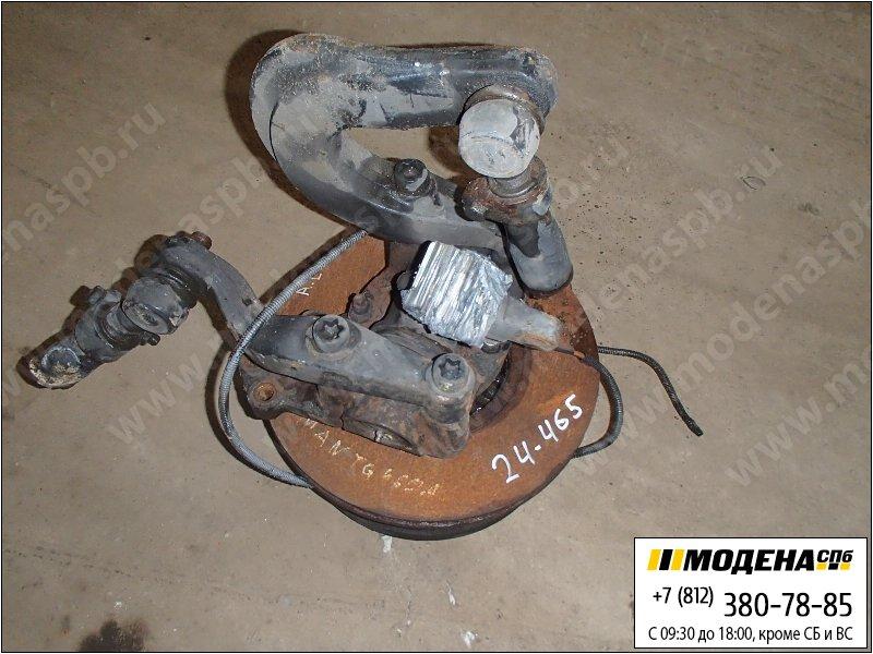 запчасти man Ступица с тормозным диском левая передняя  81.44201-6267