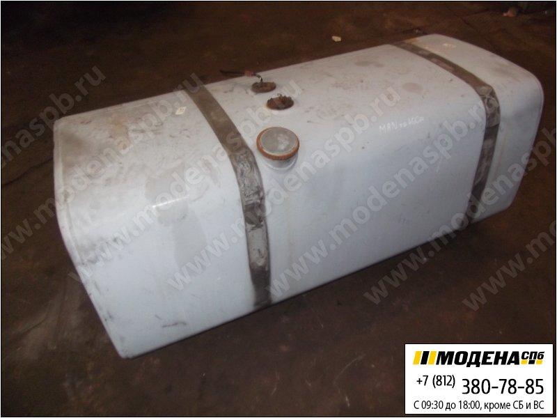 запчасти man Топливный бак 600 литров (1580x620x660) с топливозаборником (алюминий)