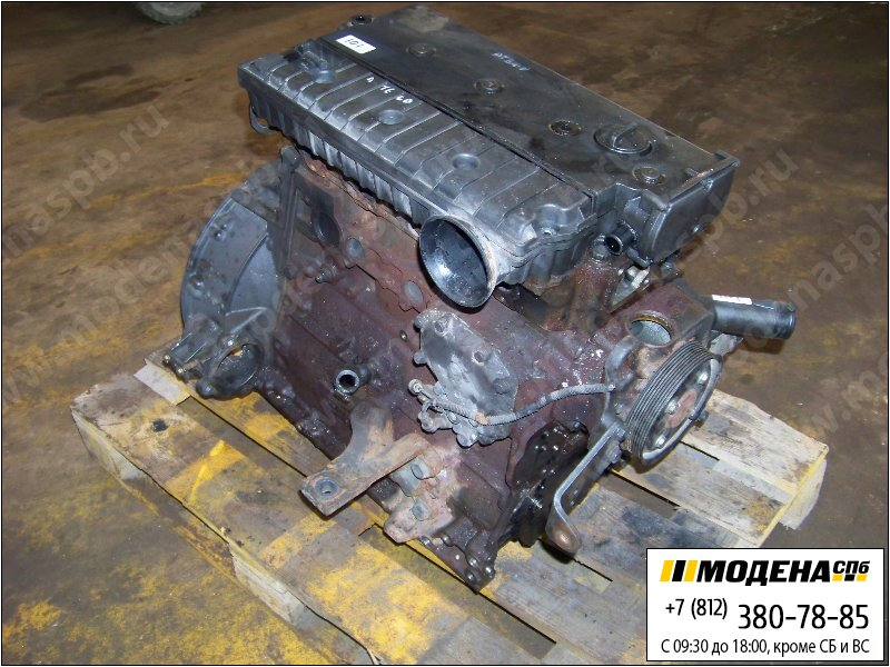 запчасти mercedes Блок двигателя OM904LA 136 л.с. 100 кВт, 4249 см. куб  OM904LA