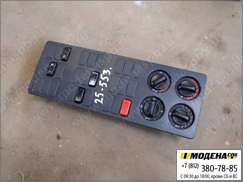 запчасти mercedes Блок переключателей печки салона с переключателями электрических узлов  A0008304485