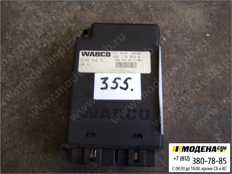 запчасти mercedes Блок управления пневматической подвеской ECAS 4x2  Wabco 4461700240