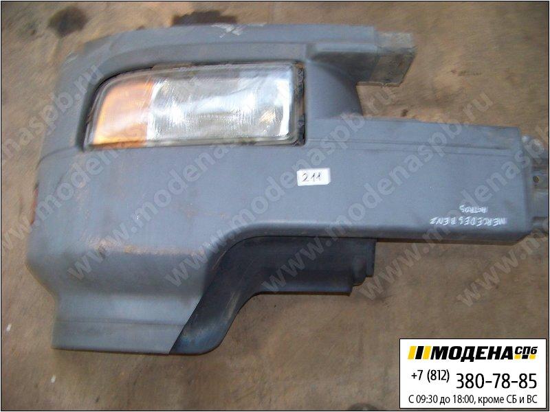 запчасти mercedes Часть бампера левая с фарой  A9418804570