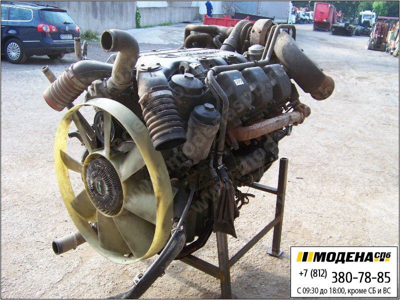 запчасти mercedes Двигатель дизельный 428 л.с. 315 кВт, 11946 см. куб  OM501LA II/2-00