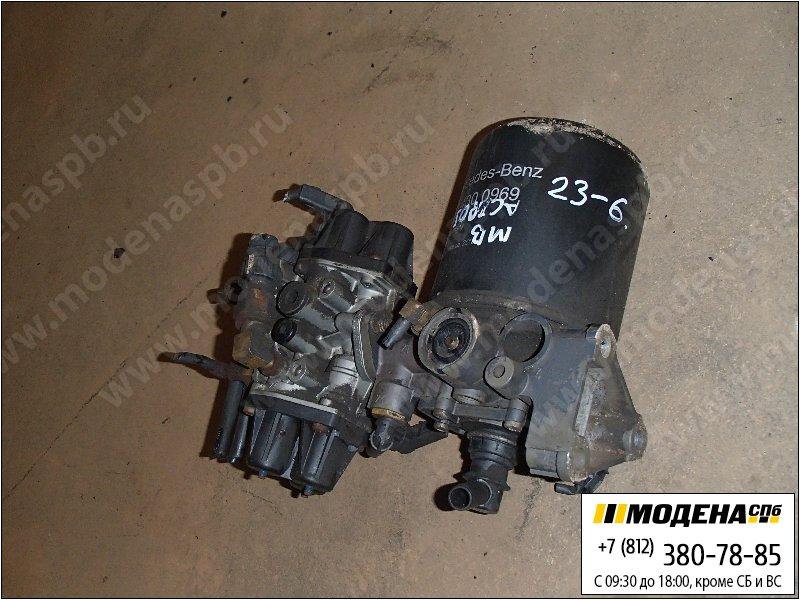 запчасти mercedes Клапан защитный четырехконтурный с осушителем в сборе  Knorr-Bremse II35530
