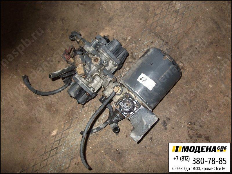 запчасти mercedes Клапан защитный четырехконтурный с осушителем воздуха в сборе  Wabco 9324000010