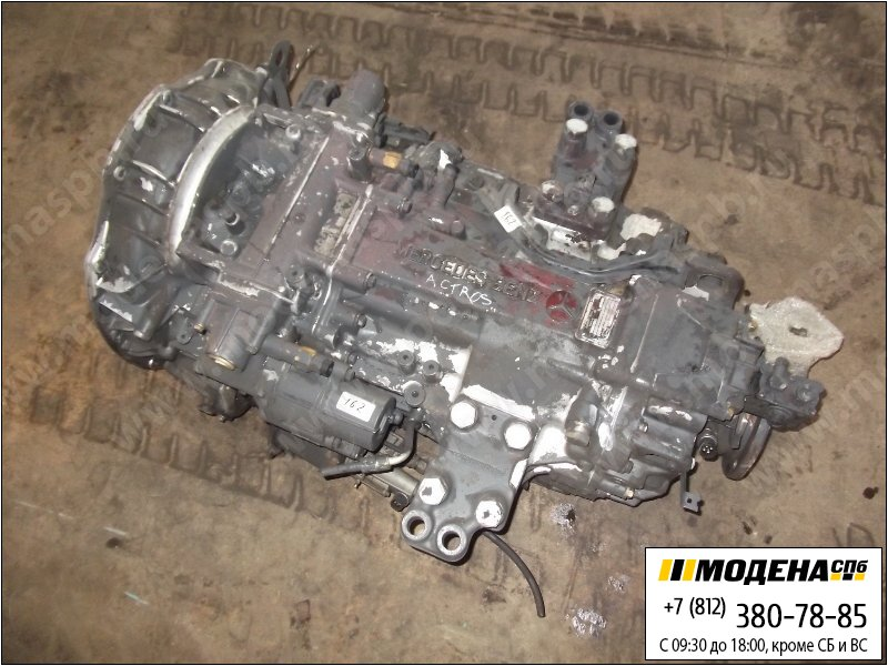 запчасти mercedes Коробка передач G210-16  A00112603600