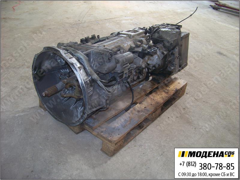 запчасти mercedes Коробка передач G240-16 механическая с интардером VOITH R115 (Ratio: 11,7-0,69)  A0012603600