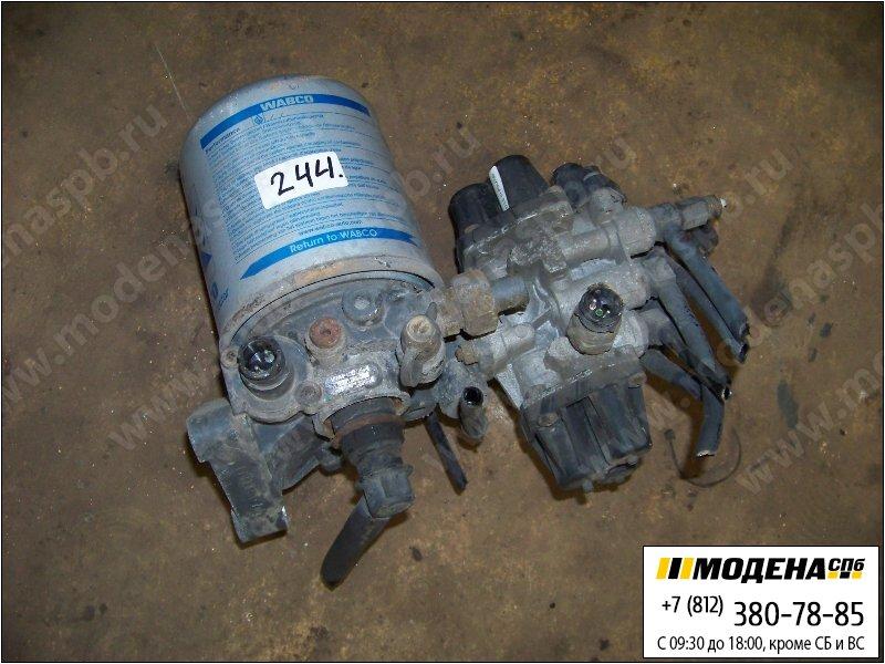 запчасти mercedes Осушитель воздуха (однокамерный) с клапаном защитным четырехконтурным в сборе  Wabco 9324000020