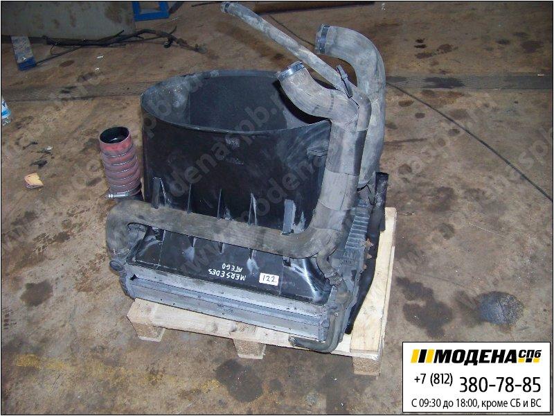запчасти mercedes Радиатор двигателя с интеркулером в сборе (572x512x64mm)  A9705050055