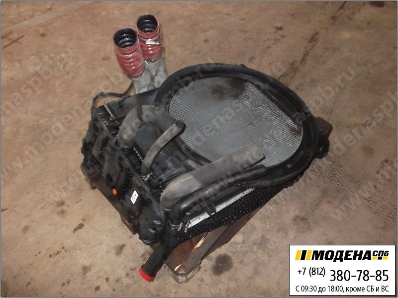 запчасти mercedes Радиатор двигателя с интеркулером в сборе (815x668x42mm)  A9405000403