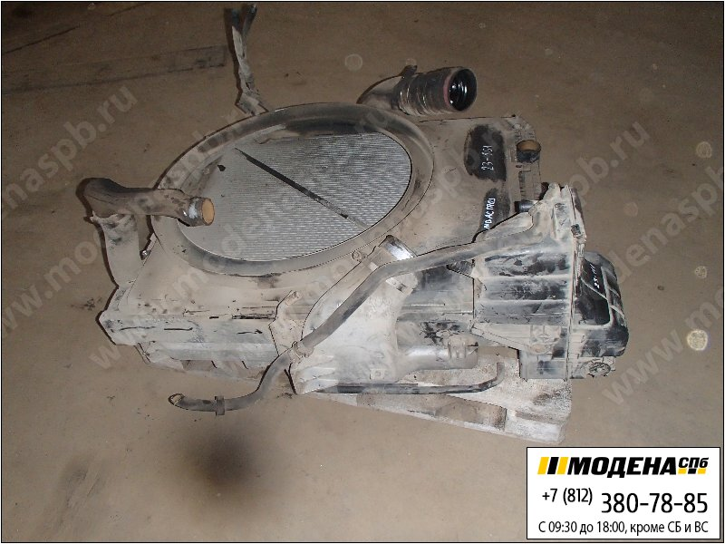 запчасти mercedes Радиатор двигателя с интеркулером в сборе  A0029971530