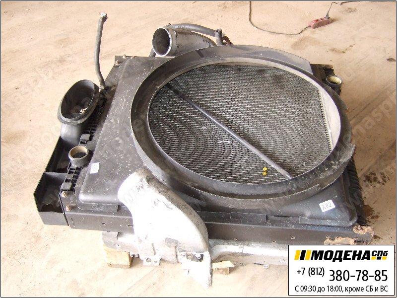 запчасти mercedes Радиатор двигателя с интеркулером в сборе  A9425010001