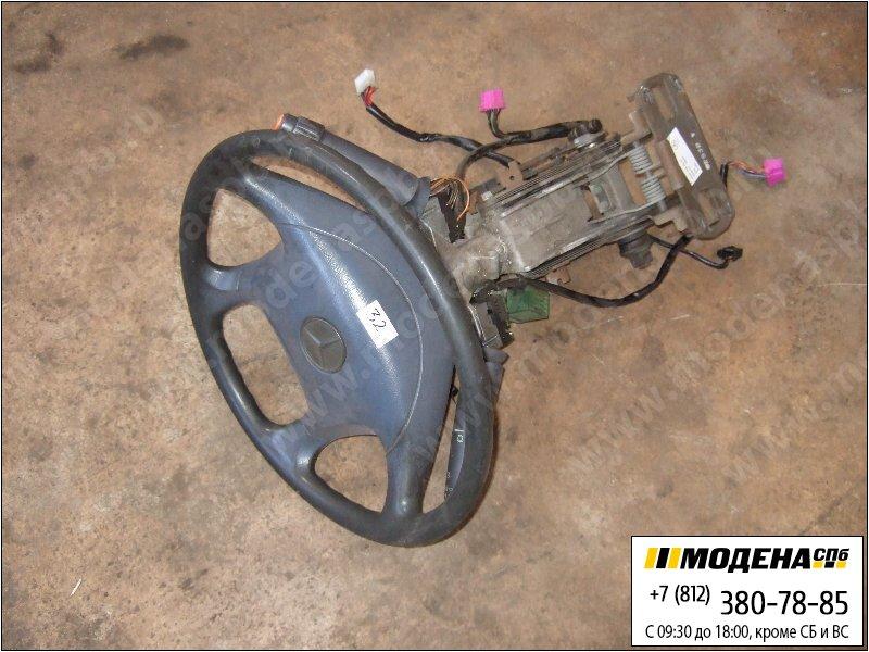 запчасти mercedes Руль с замком зажигания и колонкой  A9424600231