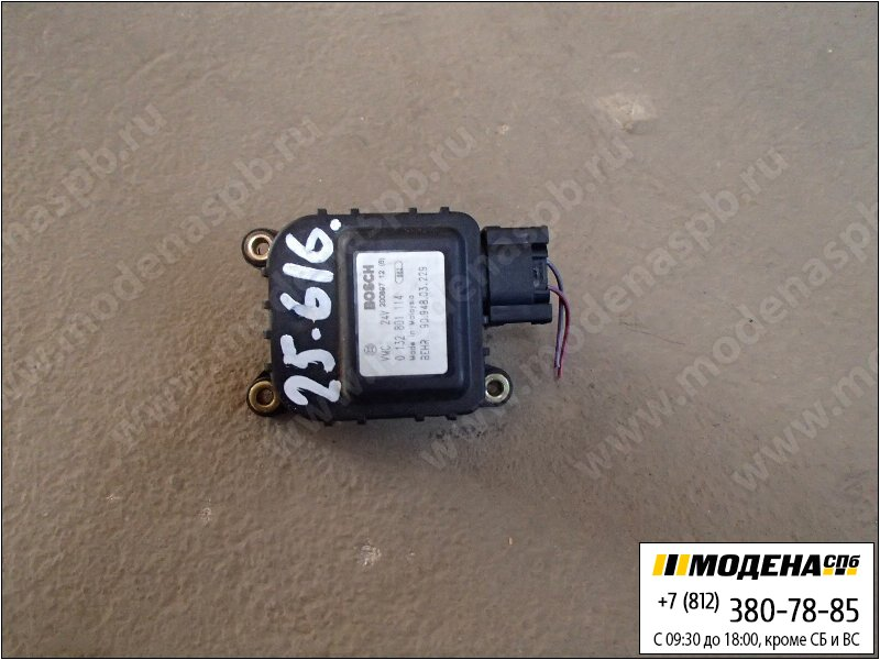запчасти mercedes Сервопривод печки кабины  Bosch 0132801114