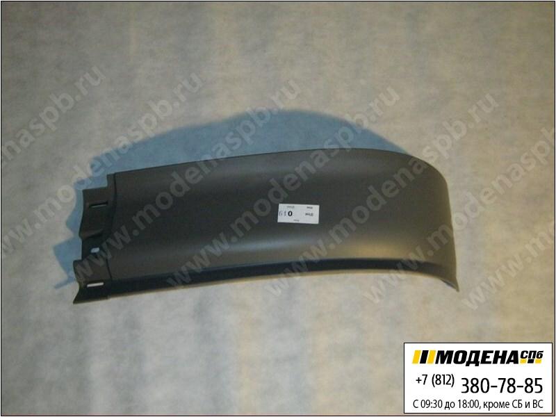 запчасти mercedes Спойлер бампера широкий левый (новый), под покраску  A9438850125