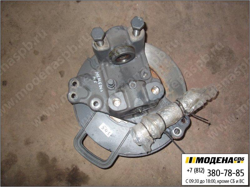 запчасти mercedes Ступица левая (новая) с тормозным диском  A9423321001