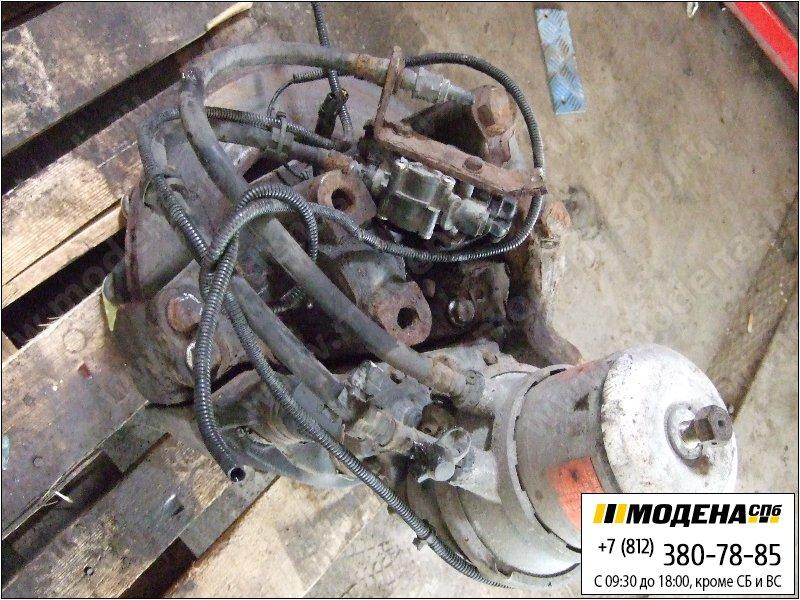 запчасти mercedes Ступица левая с тормозным диском и кулачковым тормозом (энергоаккумулятором)  A9424203301