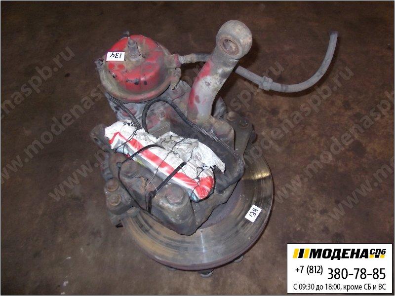 запчасти mercedes Ступица левая с тормозным диском и тормозной камерой  A9433320401