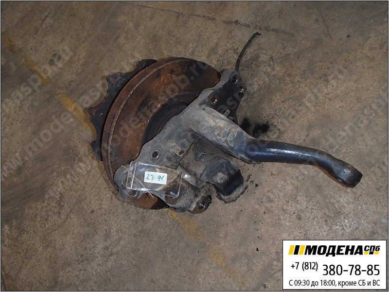 запчасти mercedes Ступица с тормозным диском левая  A9423321301