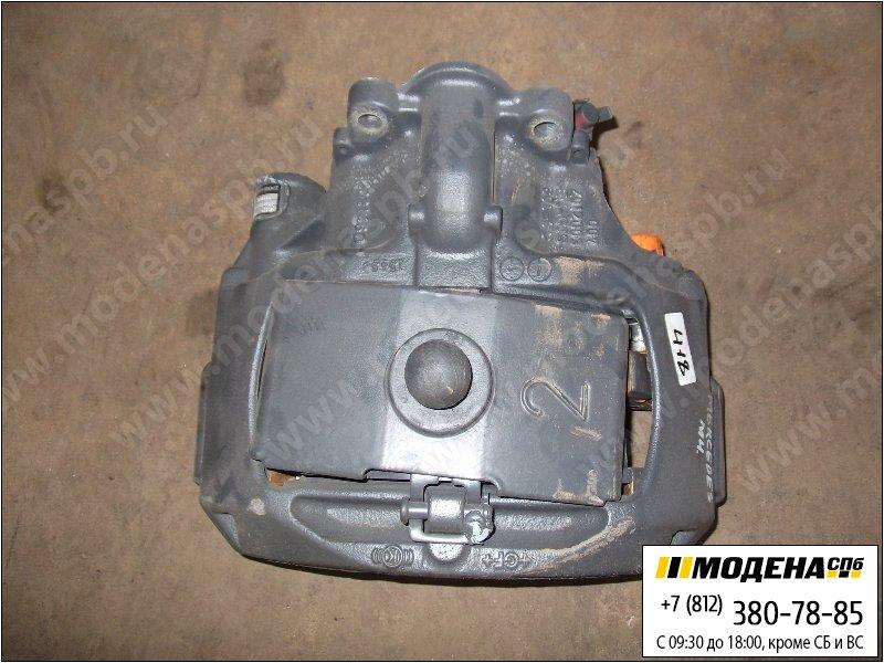 запчасти mercedes Суппорт (новый) с тормозными колодками  A9444200201