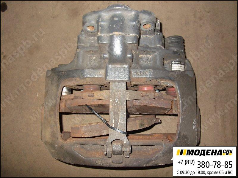 запчасти mercedes Суппорт (новый) задний с тормозными колодками  A9424203201