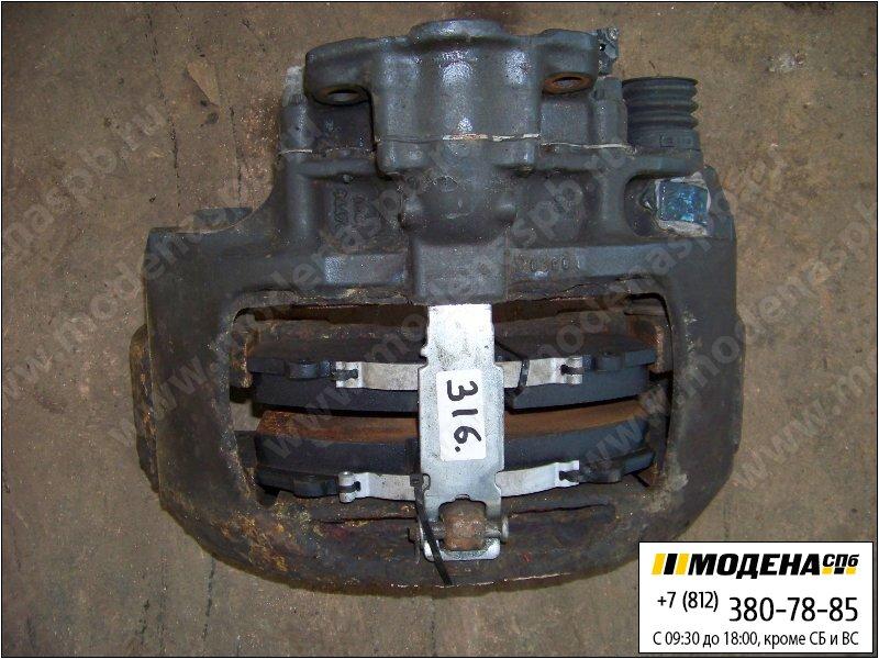 запчасти mercedes Суппорт с тормозными колодками  A9424205001