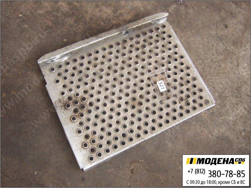 запчасти mercedes Теплозащита (площадка) глушителя