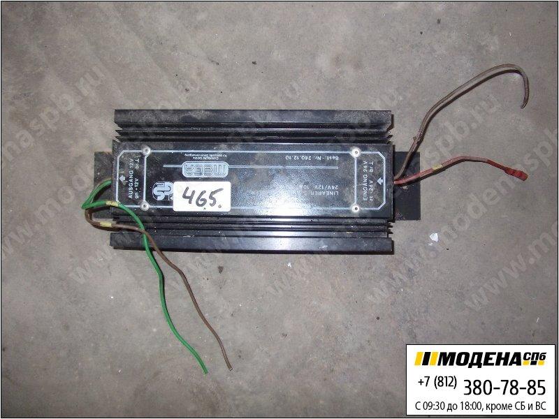 запчасти mercedes Трансформатор (преобразователь) напряжения 24/12V