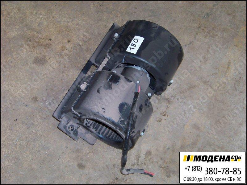 запчасти renault Электродвигатель (с вентилятором) печки кабины 24V 100W