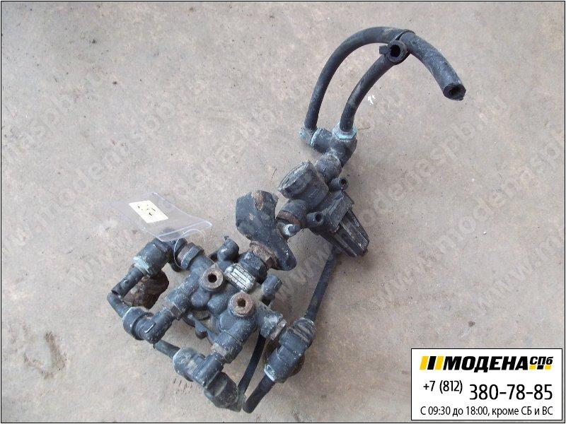 запчасти renault Клапан защитный четырехконтурный  Knorr-Bremse AE4447