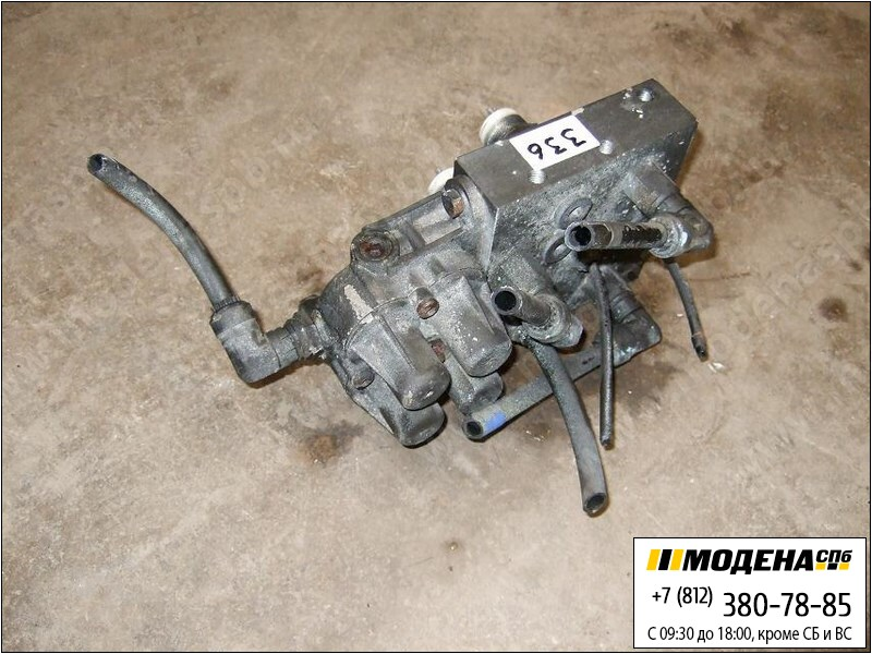 запчасти renault Клапан защитный четырехконтурный  Knorr-Bremse SEB 01115