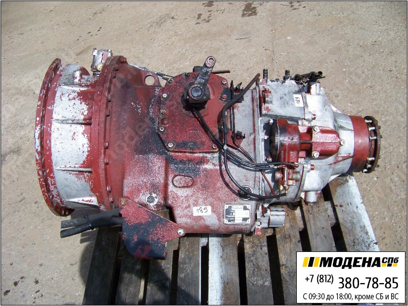 запчасти renault Коробка передач B18200L42 механическая  5600577579