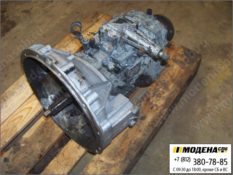 запчасти renault Коробка передач ZF Ecolite S5-42 механическая (Ratio: 5,72-0,76)  5010452323