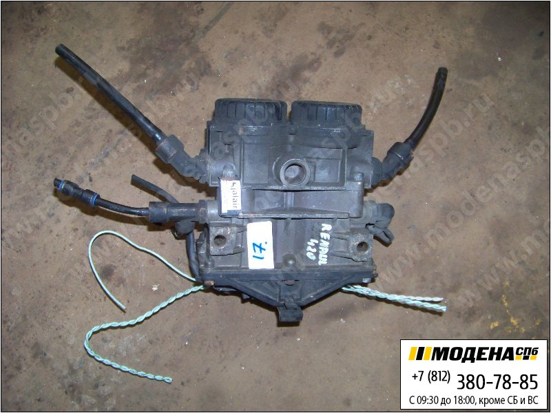 запчасти renault Модулятор ABS  Knorr-Bremse 0486204021