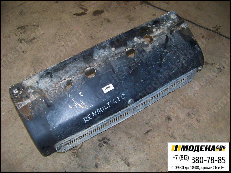запчасти renault Накладка переднего бампера центральная