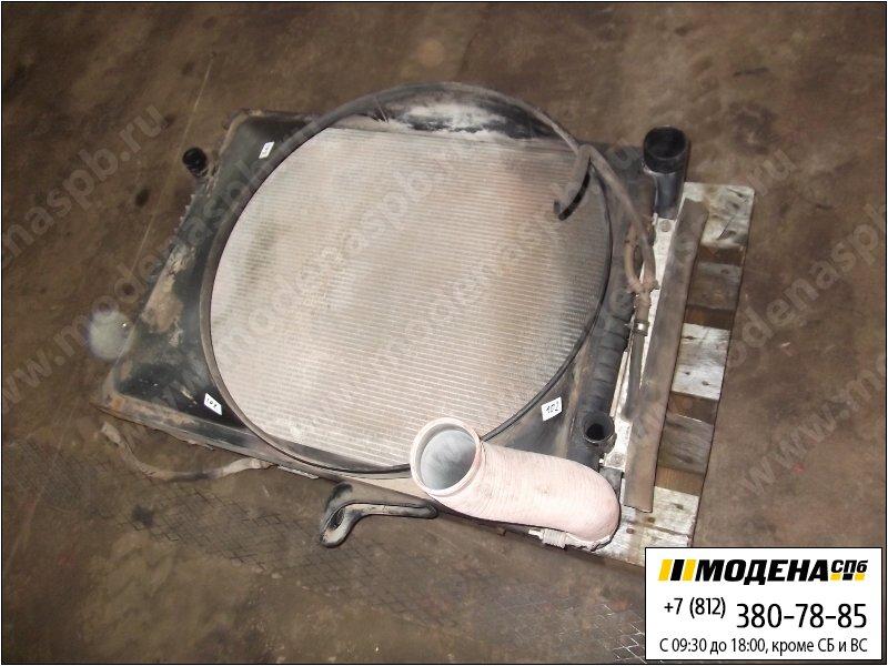 запчасти renault Радиатор двигателя с интеркулером в сборе  5010315638