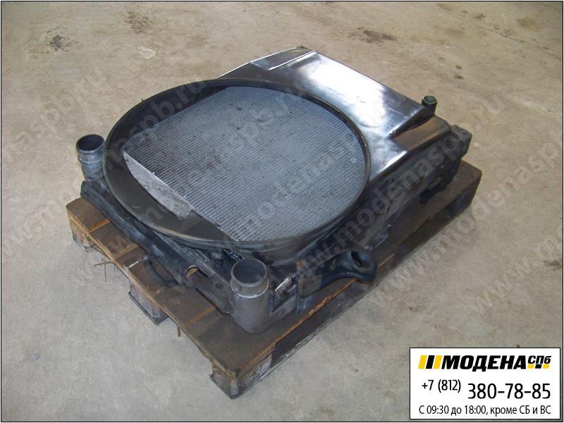 запчасти renault Радиатор двигателя с интеркулером в сборе  5010315739
