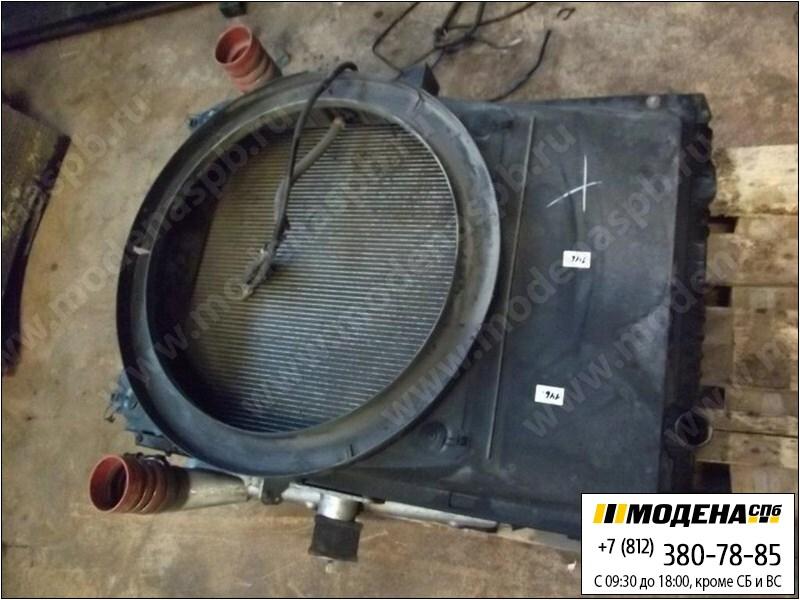 запчасти renault Радиатор двигателя с радиатором кондиционера и интеркулером в сборе (977x689x48mm)  5010514435