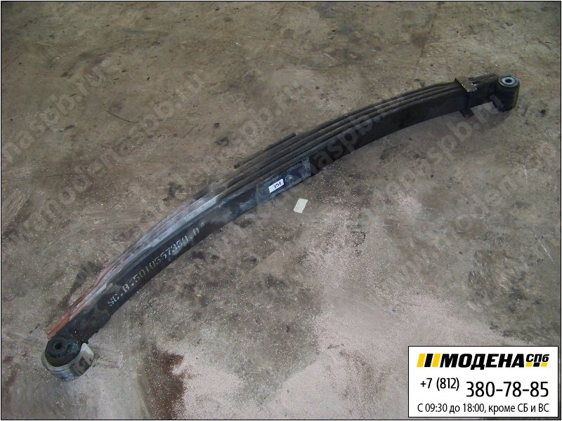запчасти renault Рессора передняя четырехлистовая 4x90 (820+820 mm)  5010557358