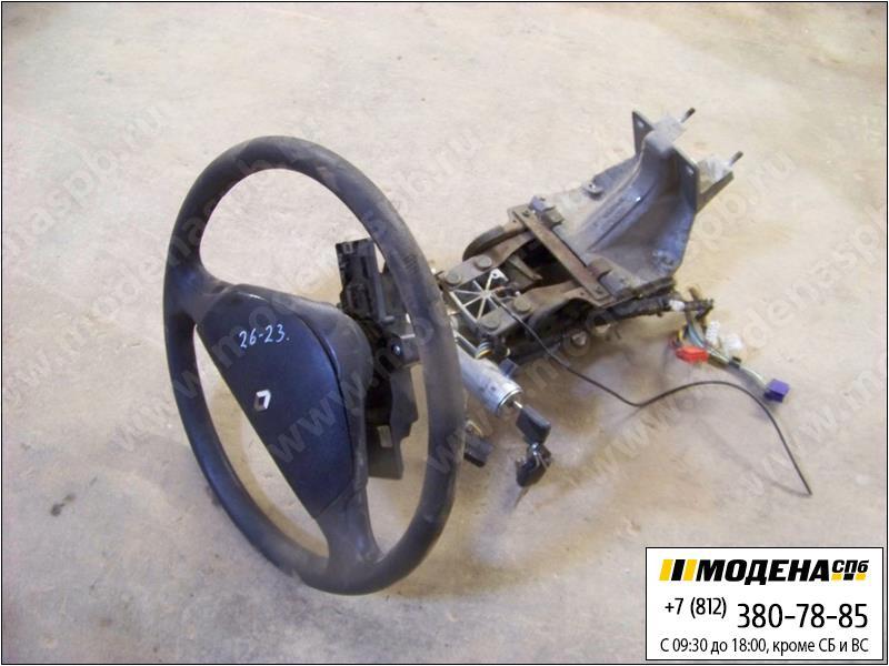 запчасти renault Руль с замком зажигания и колонкой  5010383365