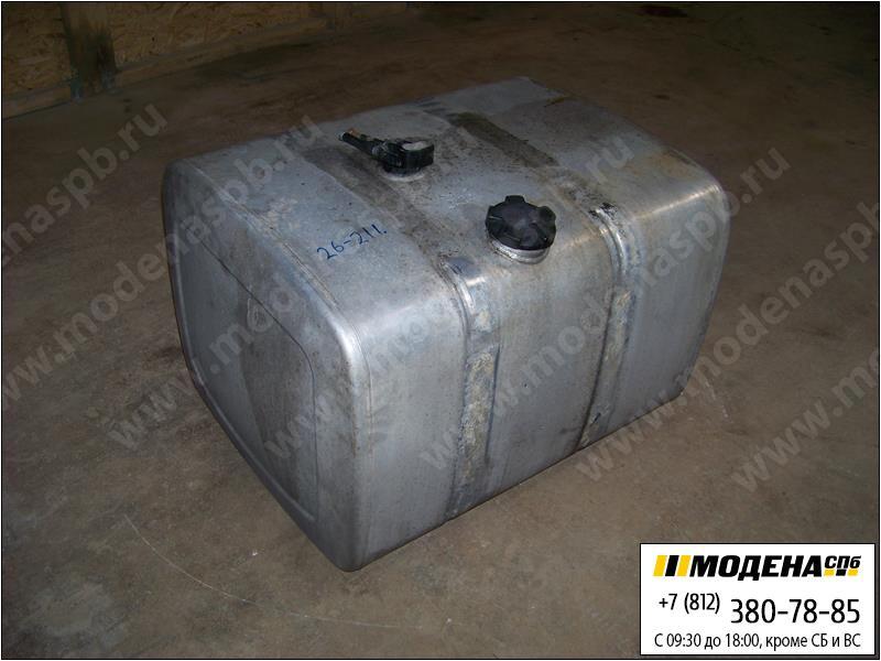запчасти renault Топливный бак 390 литров с крышкой и топливозаборником (алюминий) (950*760*640)  5010505145