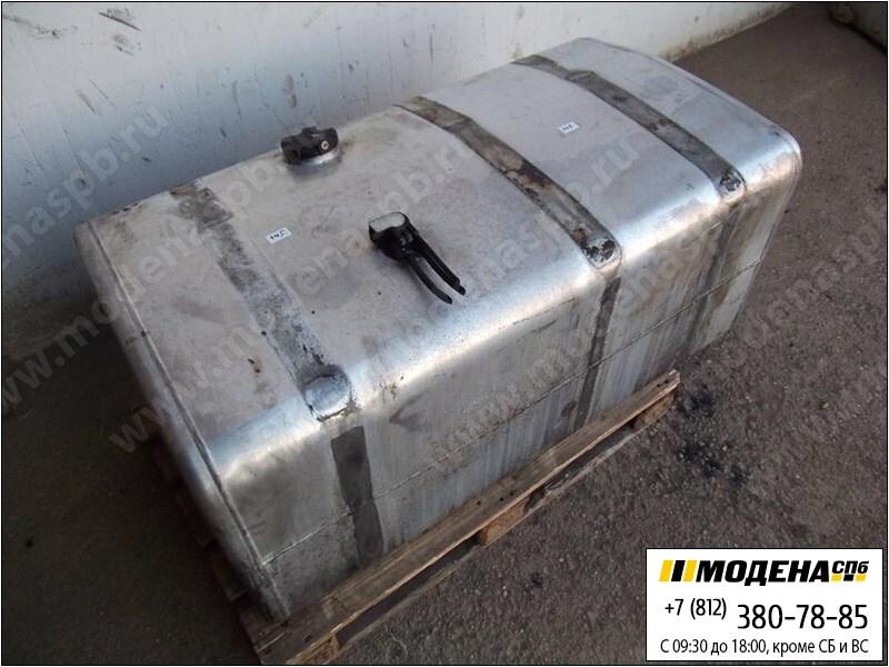 запчасти renault Топливный бак 555 литров (1385x750x610) с топливозаборником (алюминий)  7420865105