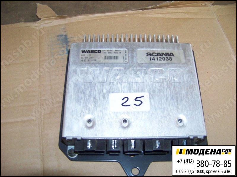 запчасти scania Блок управления ABS тормозной системы  1412038