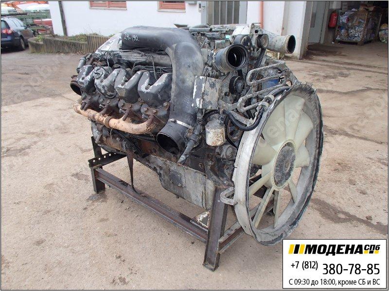 запчасти scania Двигатель дизельный 460 л.с. 338 кВт, 14190 см. куб  DSC14-15 L02
