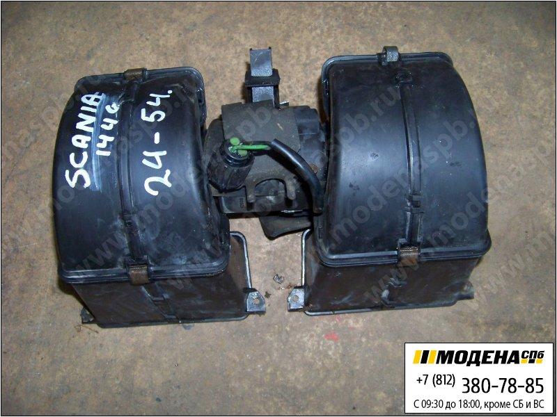 запчасти scania Электродвигатель печки кабины 24V 100W  1357713