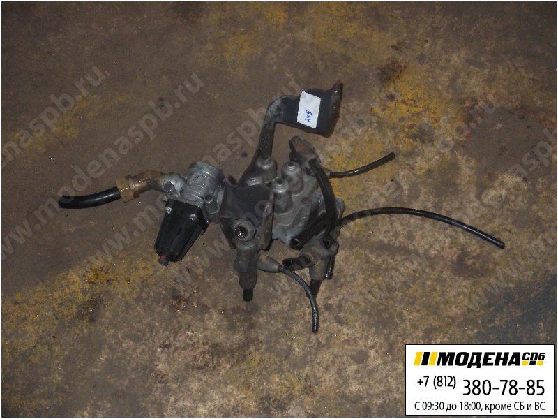 запчасти scania Клапан защитный четырехконтурный  Wabco 9347141280